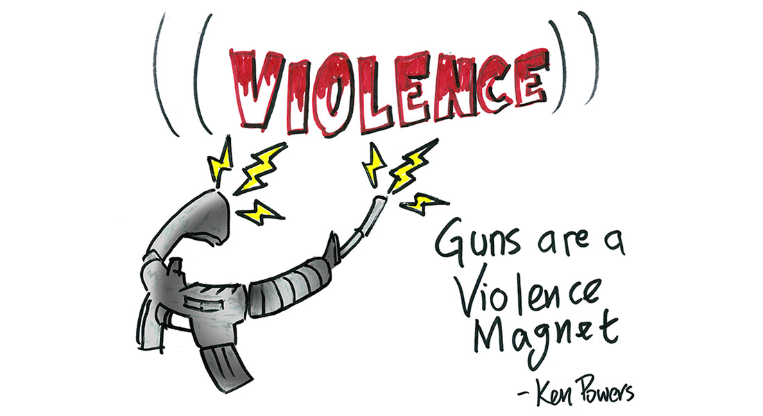 Guns Are a Violence Magnet and Other Meditations