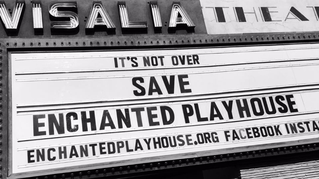 Save The Enchanted Playhouse